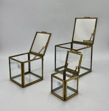 Deco Cube Mirror x3