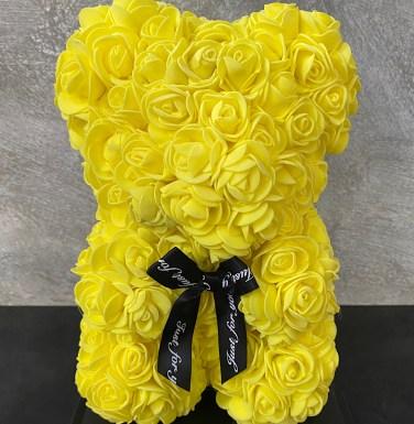 Rose Bear Yellow