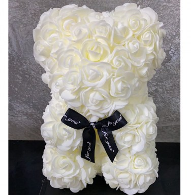 Rose Bear White