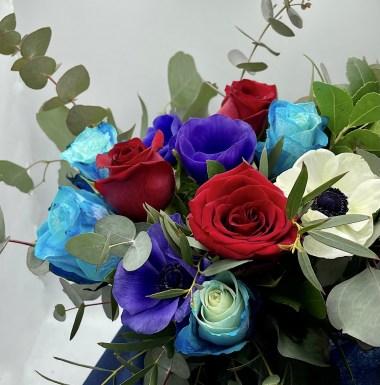 Blue Velvet Bouquet