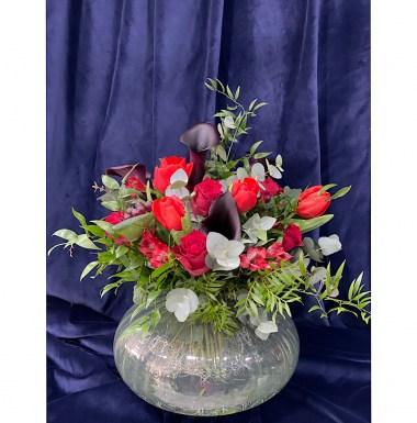 Red Valentine Arrangement